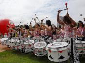 English: Batala drummers Română: Toboşari Batala