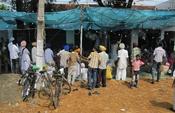English: A Sikh ceremony in Batala, India