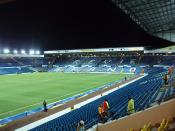 English: The Revie Stand at Elland Road, taken from the East Stand on Tuesday the 13th of November 2007.