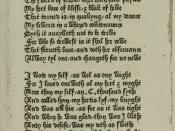 Original Chaucer manuscript of Anelida/Arcite