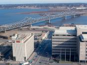 Peoria - Murray Baker Bridge and Caterpillar