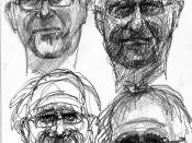 four studies of Miniver for JKPP