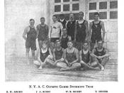 English: New York Athletic Club's 1904 Olympic Swim Team