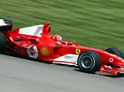 Michael Schumacher, United States Grand Prix, Indianapolis, 2004