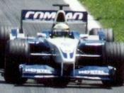 Ralf Schumacher driving for WilliamsF1 at the 2001 Canadian Grand Prix.