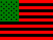 African American flag Variant