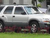 Indonesian built Chevrolet Blazer (also marketed as Opel Blazer)