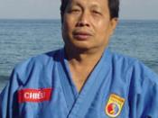 English: Master Nguyen Van Chieu - Vovinam Director