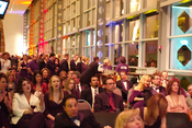 English: A photo of the audience at the 2007 PFO Oscar Party held at Heinz Field.