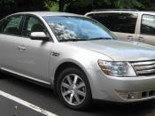 2008 Ford Taurus photographed in Gaithersburg, Maryland, USA. Category:Ford Taurus (2007-2009)
