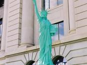 Lady Liberty, part of Strengthen the Arm of Liberty in Greeley, Colorado