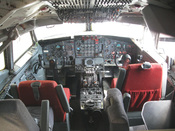 Cockpit of a Boeing 707-123 B (1959), Deutsches Museum München, Germany