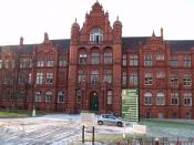 Salford University Peel Building