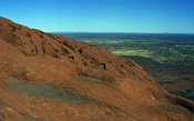 English: View from Ayers Rock, Australia