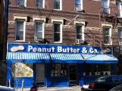 Peanut Butter & Co. sandwich shop near Washington Square Park.