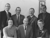 Meeting between Musica Viva & Federation, July 1969