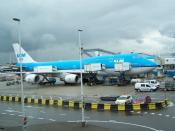 English: This is a picture of a KLM Asia Boeing 747-400