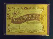 Fraisse's Ferruginous Ampoules box design