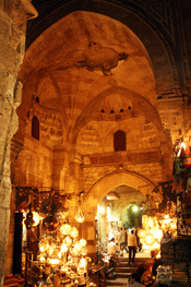 English: is a souk-market in , Egypt.