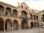 English: Lorca's Town Hall Español: Ayuntamiento de Lorca