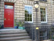 English: Stevenson's childhood home in Heriot Row, Edinburgh