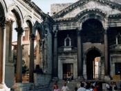Palazzo di Diocleziano, Spalato, Croazia Fotografia scattata da me stesso. Spalato, agosto 2003.