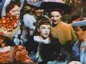 Cropped screenshot of Judy Garland from the trailer for the film Meet Me in St. Louis.