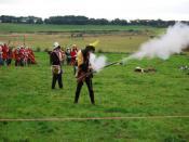 English: Battle of Blore Heath Re-enactment of the Battle of Blore Heath 2007.