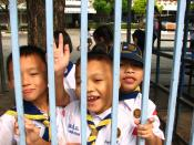 Elementary school students in Chiang Mai