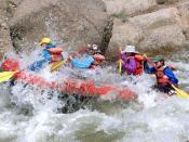 Rafting on the Arkansas River, Colorado, USA