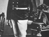 A photo of Alois in uniform