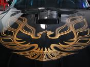 English: Pontiac Trans Am hood