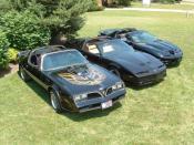 Second, third, and fourth generation Pontiac Firebird Trans Am
