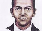 A 1972 FBI composite drawing of D. B. Cooper