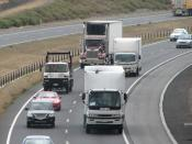 Hume Freeway (Craigieburn Bypass) at Lalor, Victoria, Australia