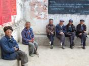 Old men, Lake Erhai