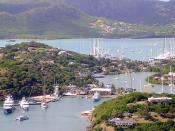 Nelson's Dockyard from Shirley Heights (3)