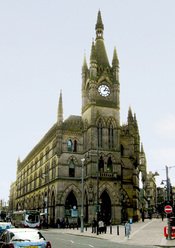 English: Wool Exchange, Bradford, West Yorkshire, England.