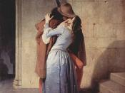 The Kiss by Francesco Hayez, 1859