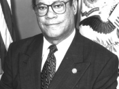 Esteban Edward Torres, Member of Congress from Los Angeles, California (1983-99)