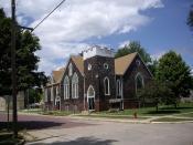 Peabody Christian Church in Peabody, Kansas