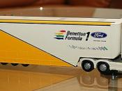Benetton Formula One Transporter