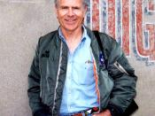 English: Homer Hickam on set of October Sky