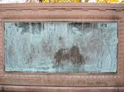 Left panel - Samuel Colt Memorial, Colt Park, Hartford, Connecticut, USA.