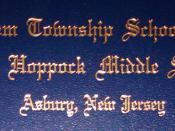 Bethlehem Township New Jersey School District Ethel Hoppock Middle School