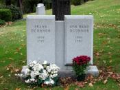 Grave marker of Frank O'Connor and Ayn Rand O'Connor, at en:Kensico Cemetery in en:Valhalla, New York. 中文: 弗蘭克·奧康諾和艾茵·兰德的墓碑。