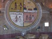 Fred Kabotie Mural in Desert View Watchtower