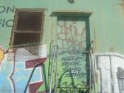 Train Door and Stairs - Train + Graffiti & Love at First Sight 5