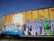 Train + Graffiti & Love at First Sight 2
