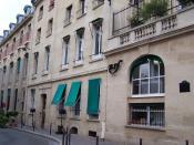 Français : Siège de la NRF, éditions Gallimard, le jour de l'inauguration de la rue Gaston-Gallimard